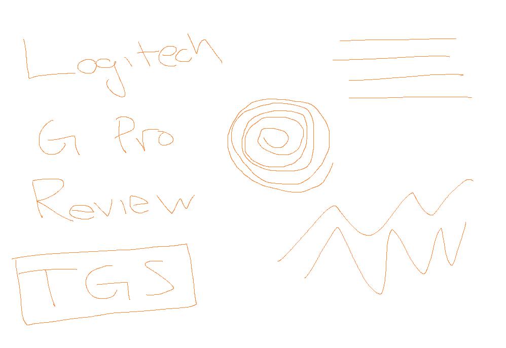 Logitech G Pro paint test