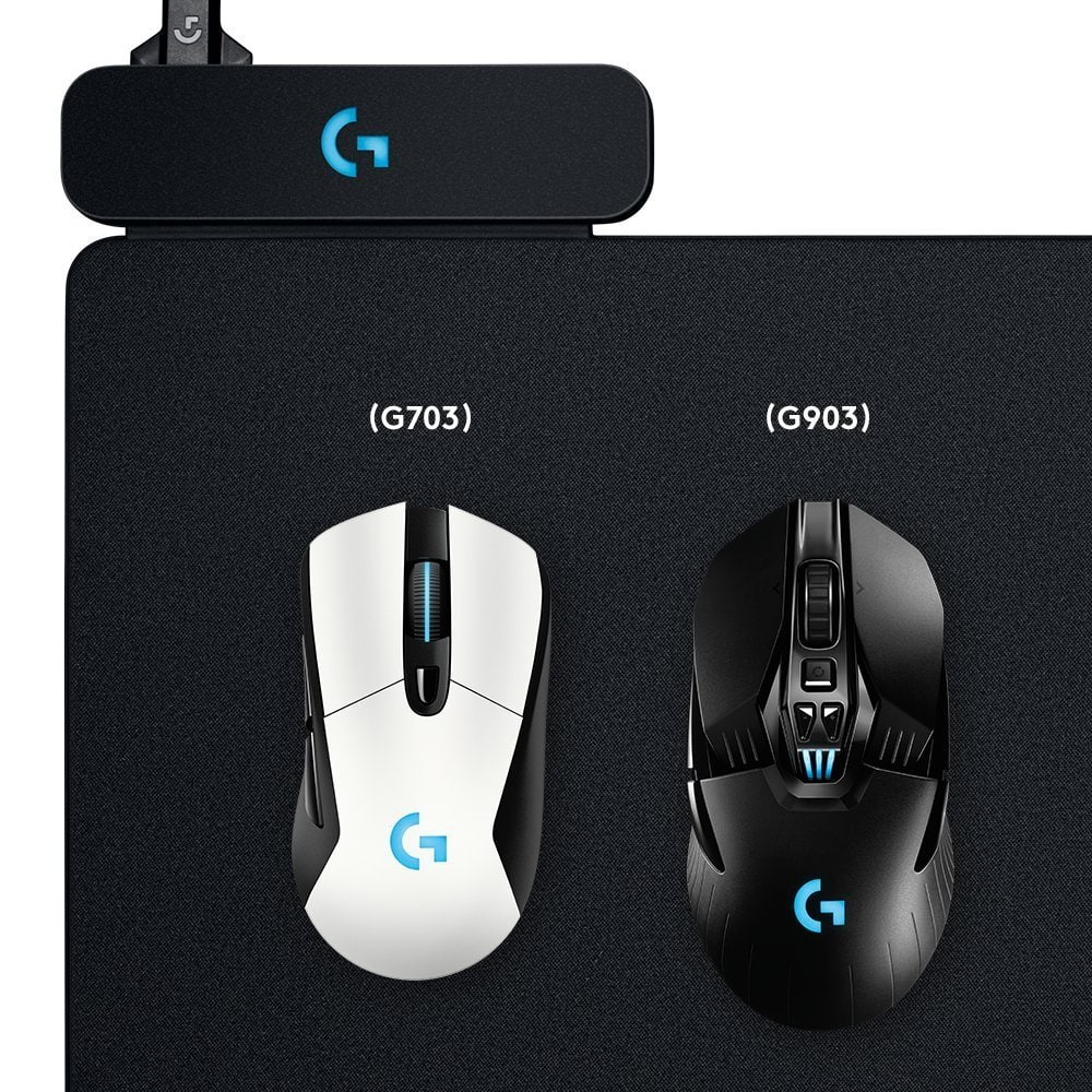 G703 can be wireless charged with the powerplay mouse pad