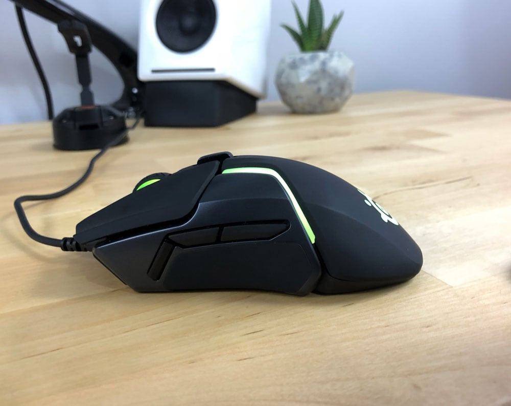 Side view of Rival 600