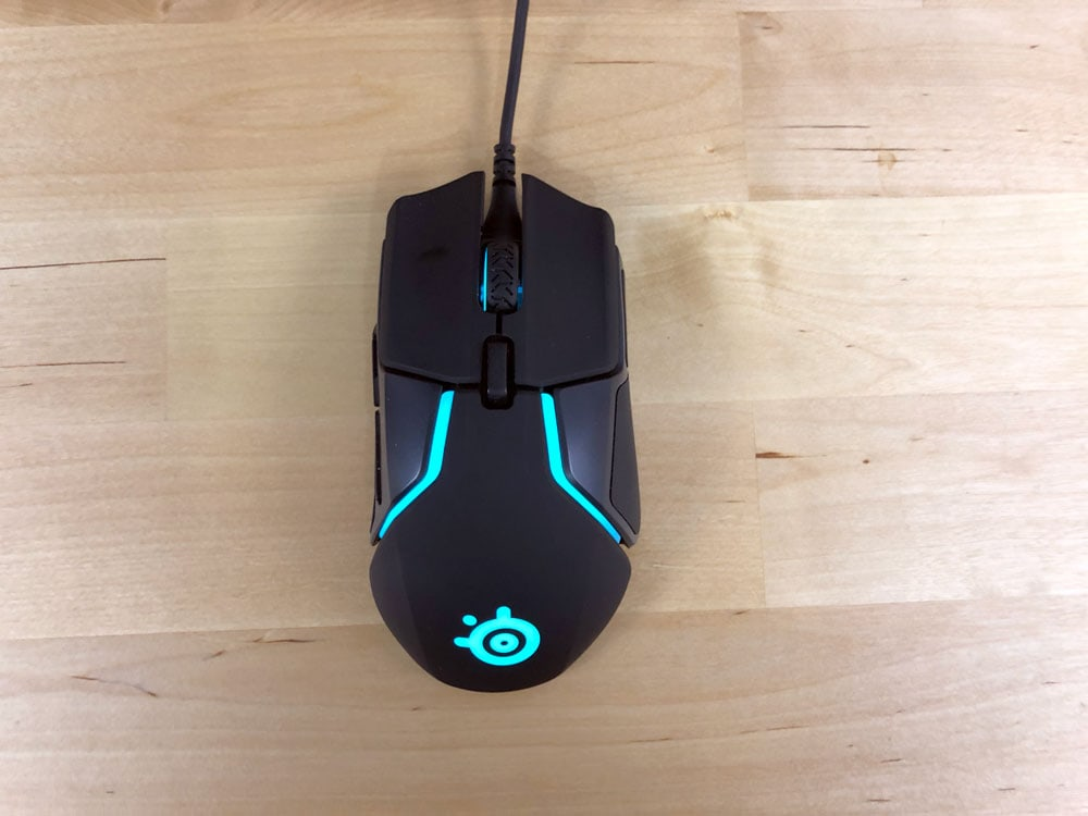Top view of Rival 600