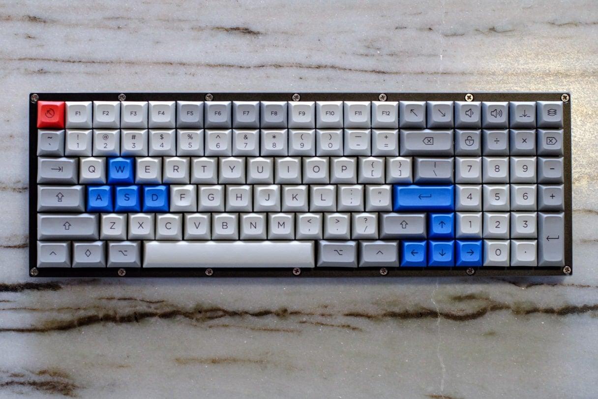 96% keyboard
