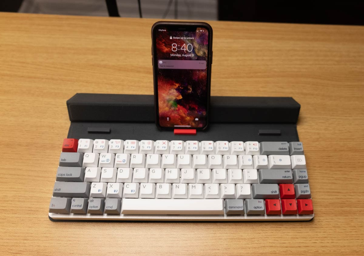 Epomaker NT68 - iPhone usage