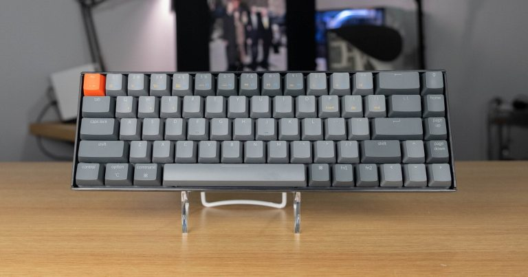 KeyChron K6 - Front view