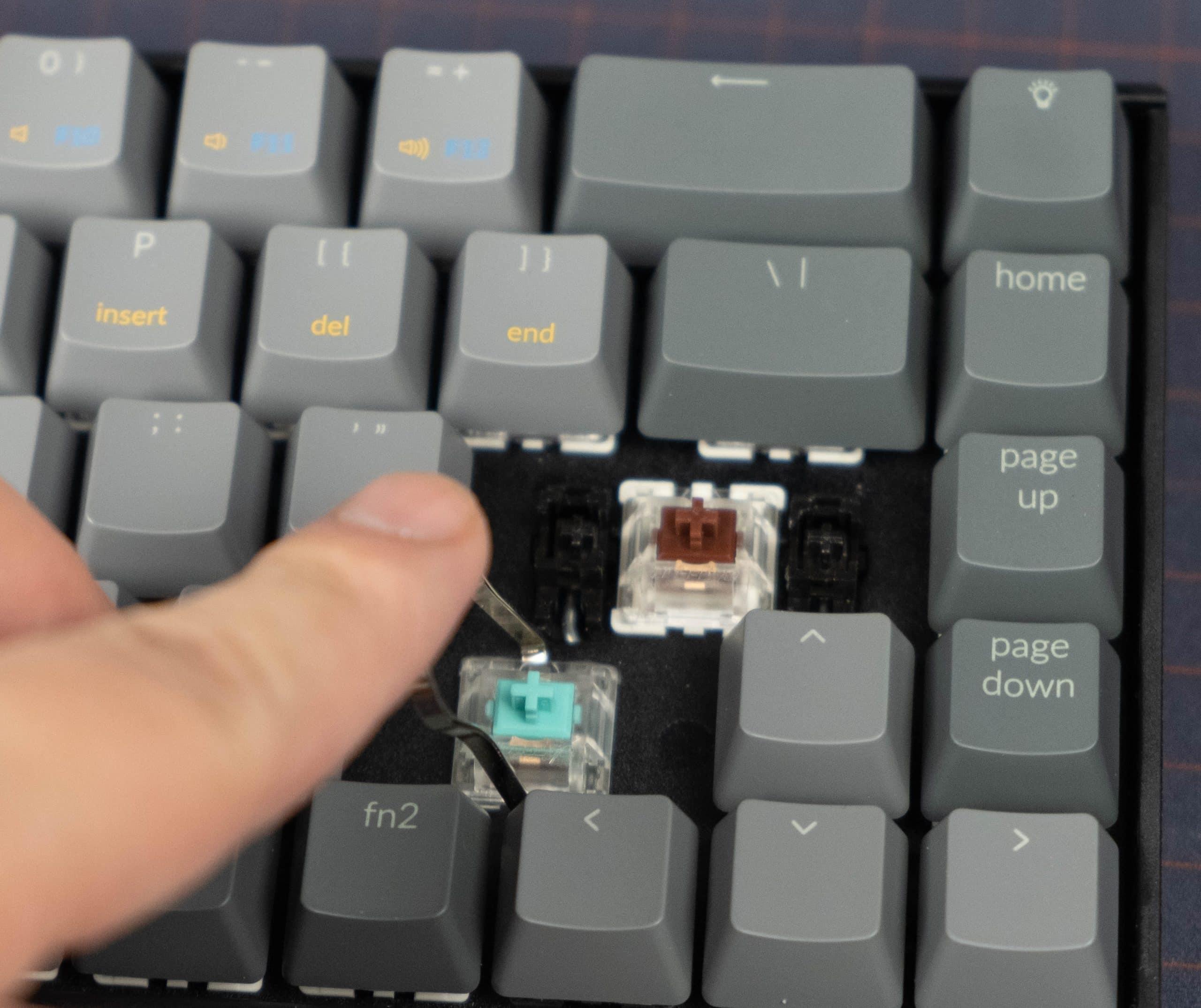 KeyChron K6 - Switch pull