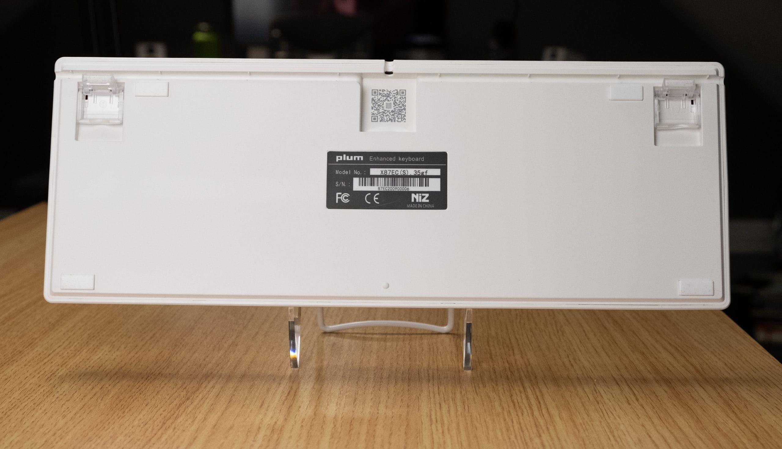 Niz Plum X87 EC- Back