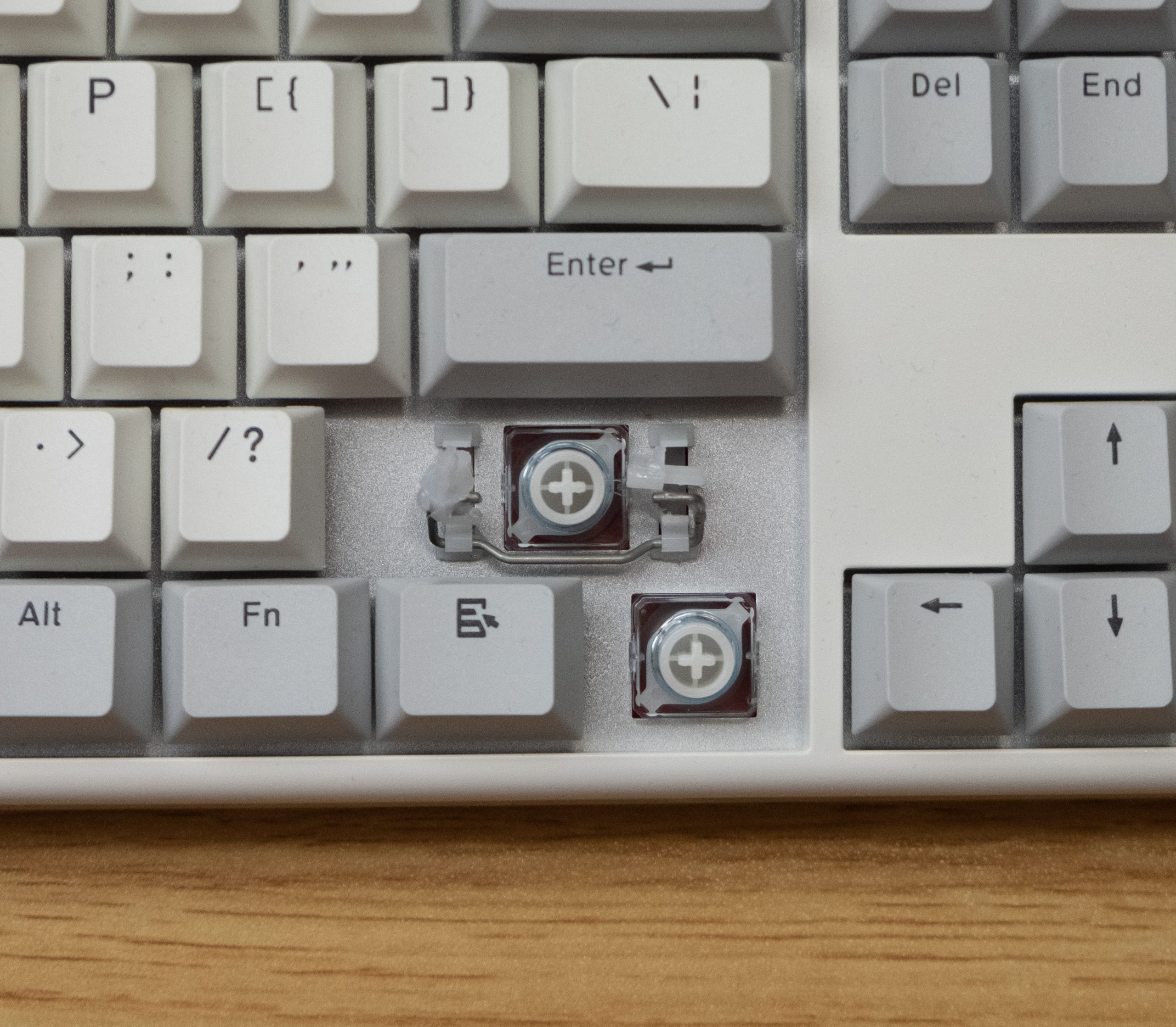 Niz Plum X87 EC - Switch and Stabs