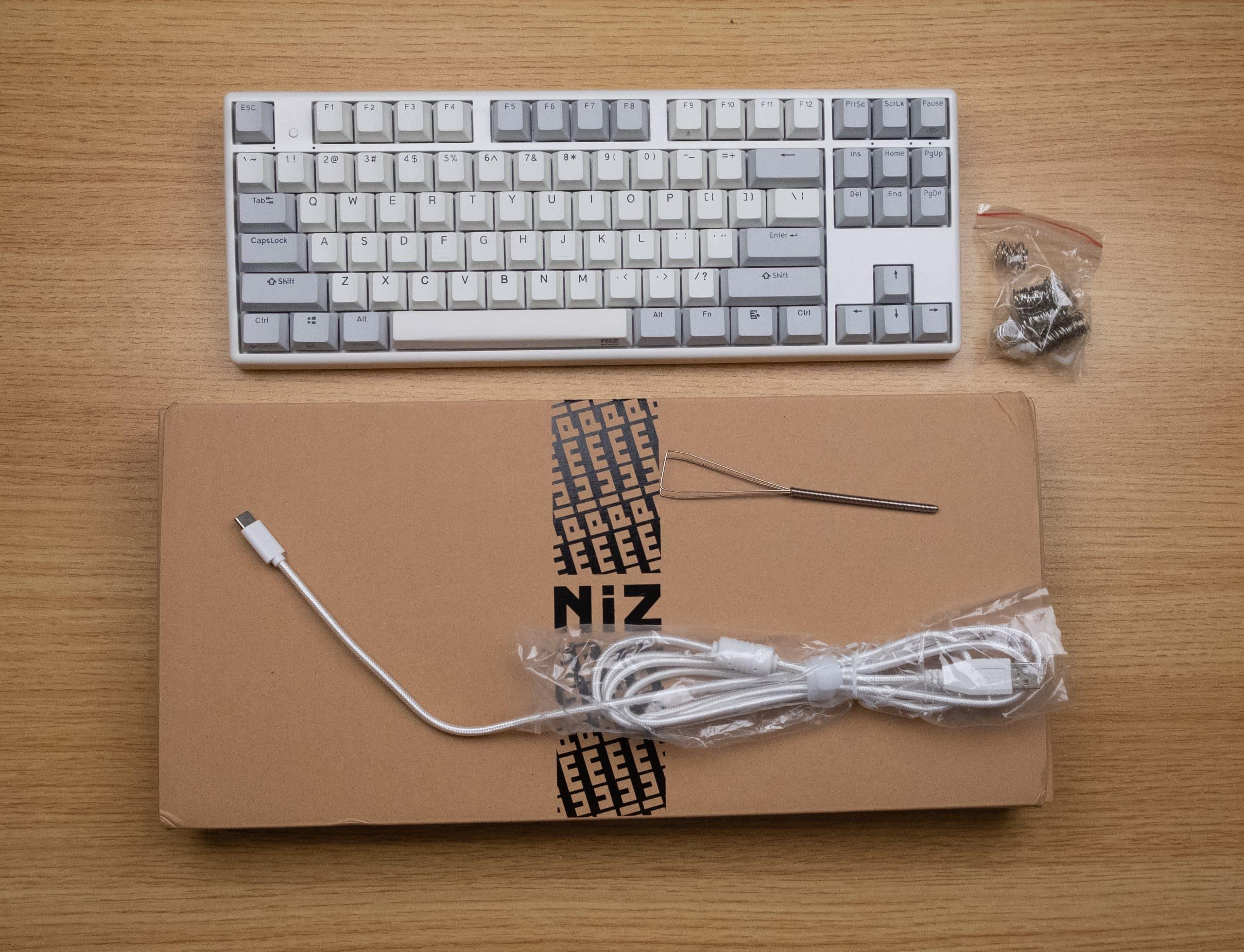 Niz Plum X87 EC - Unboxing