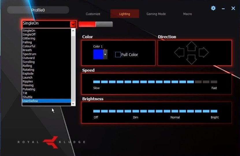 RK61 - Software