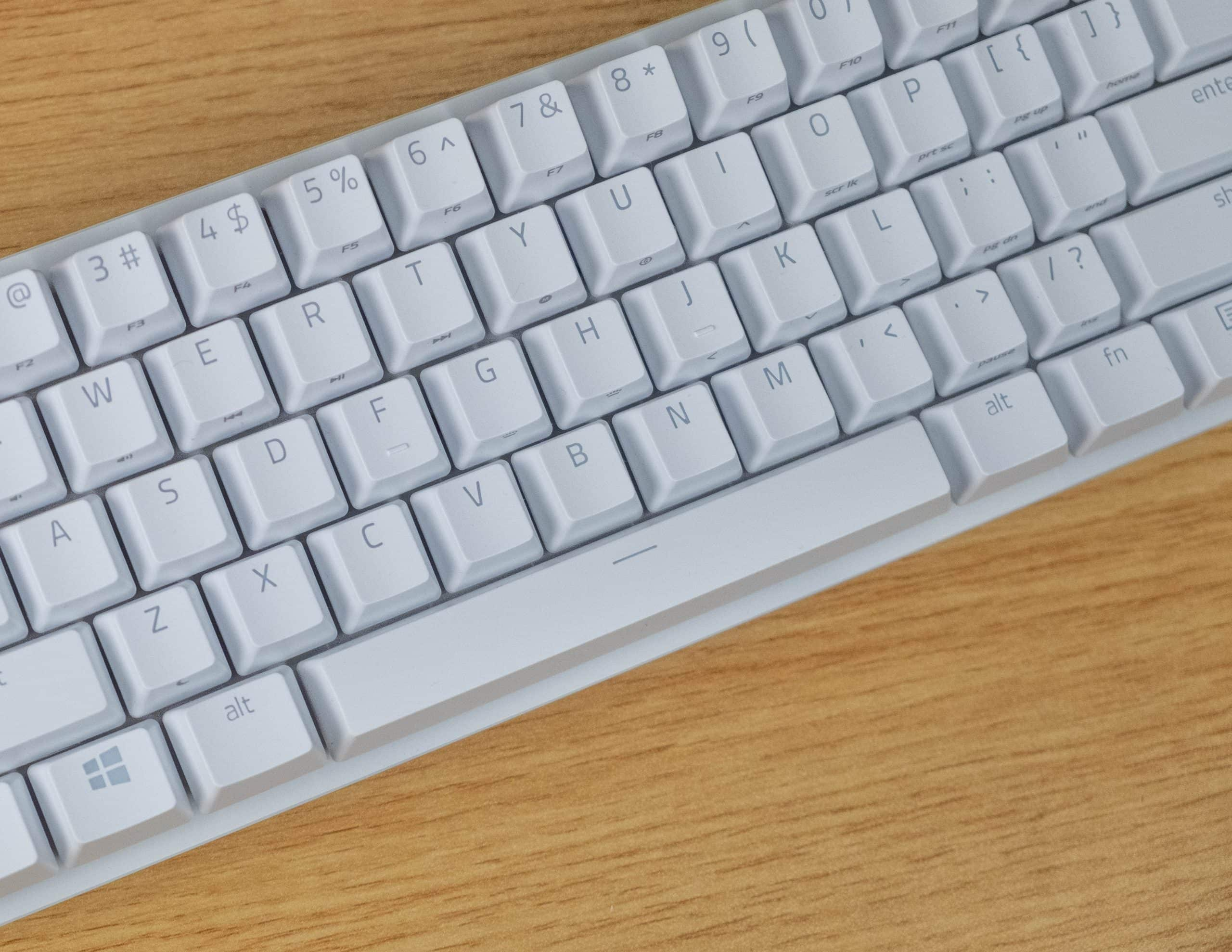 Razer Huntsman Mini - Keycap design