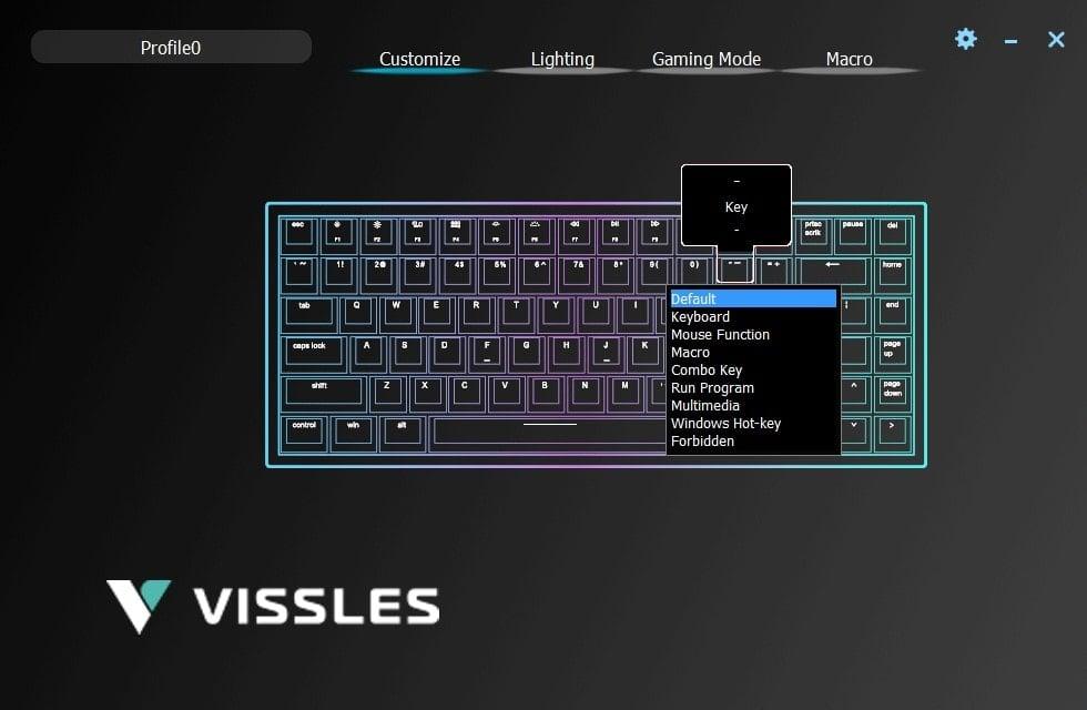 Vissles-V84-Customize