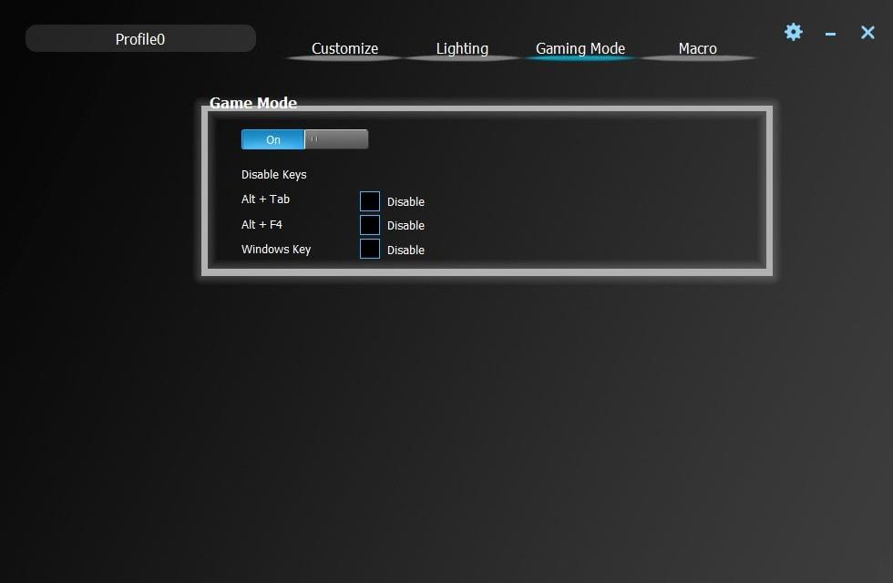 Vissles-V84-Gaming-Mode