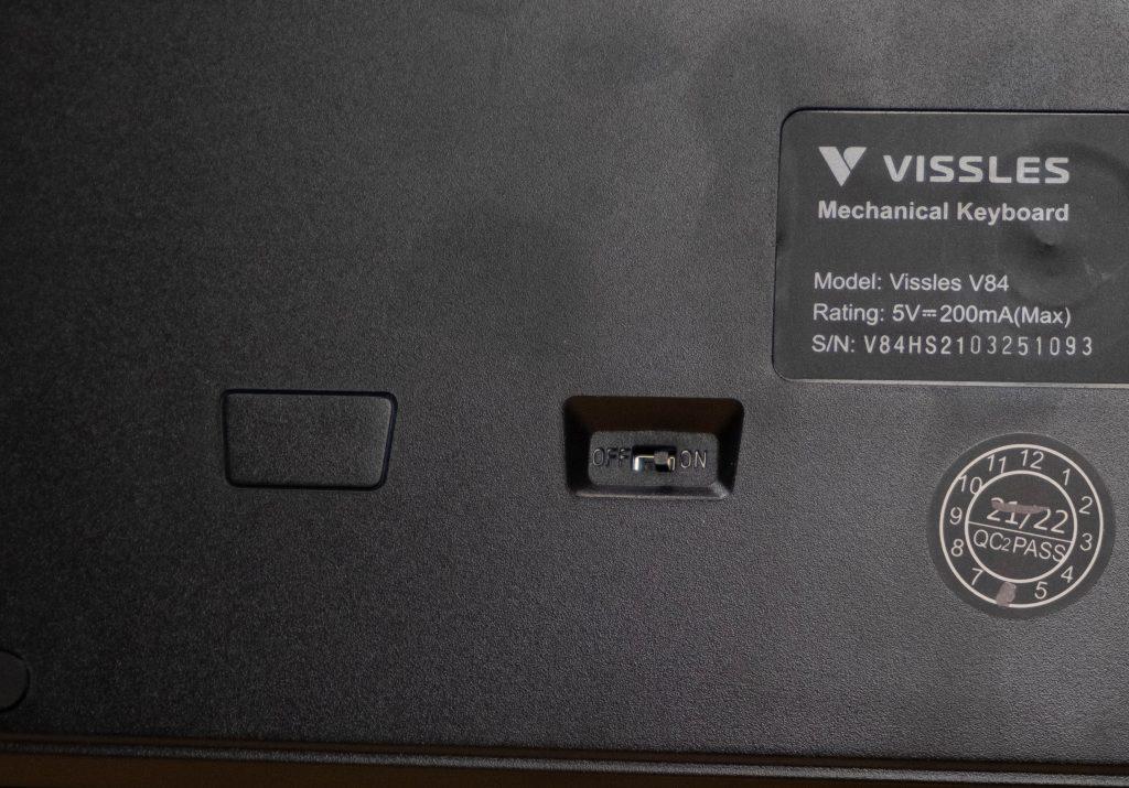 Vissles-V84-Switch