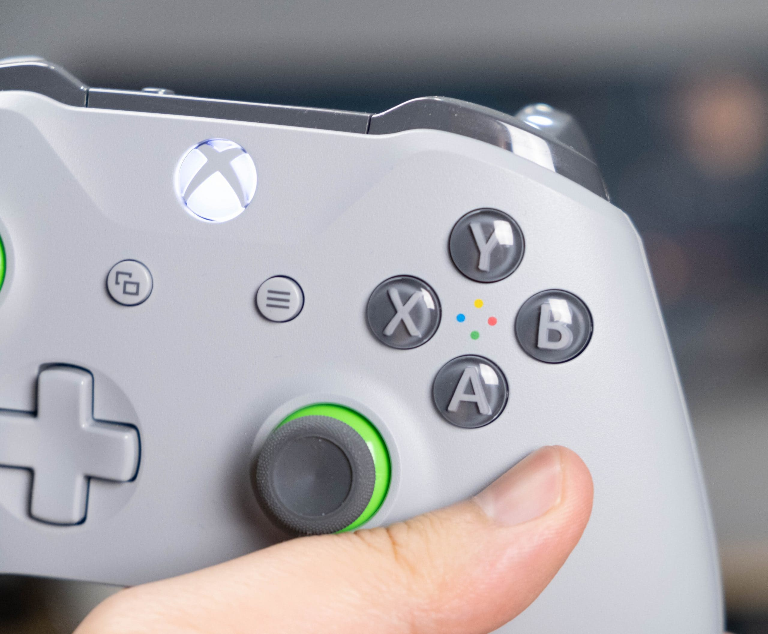 XBox One X - Buttons