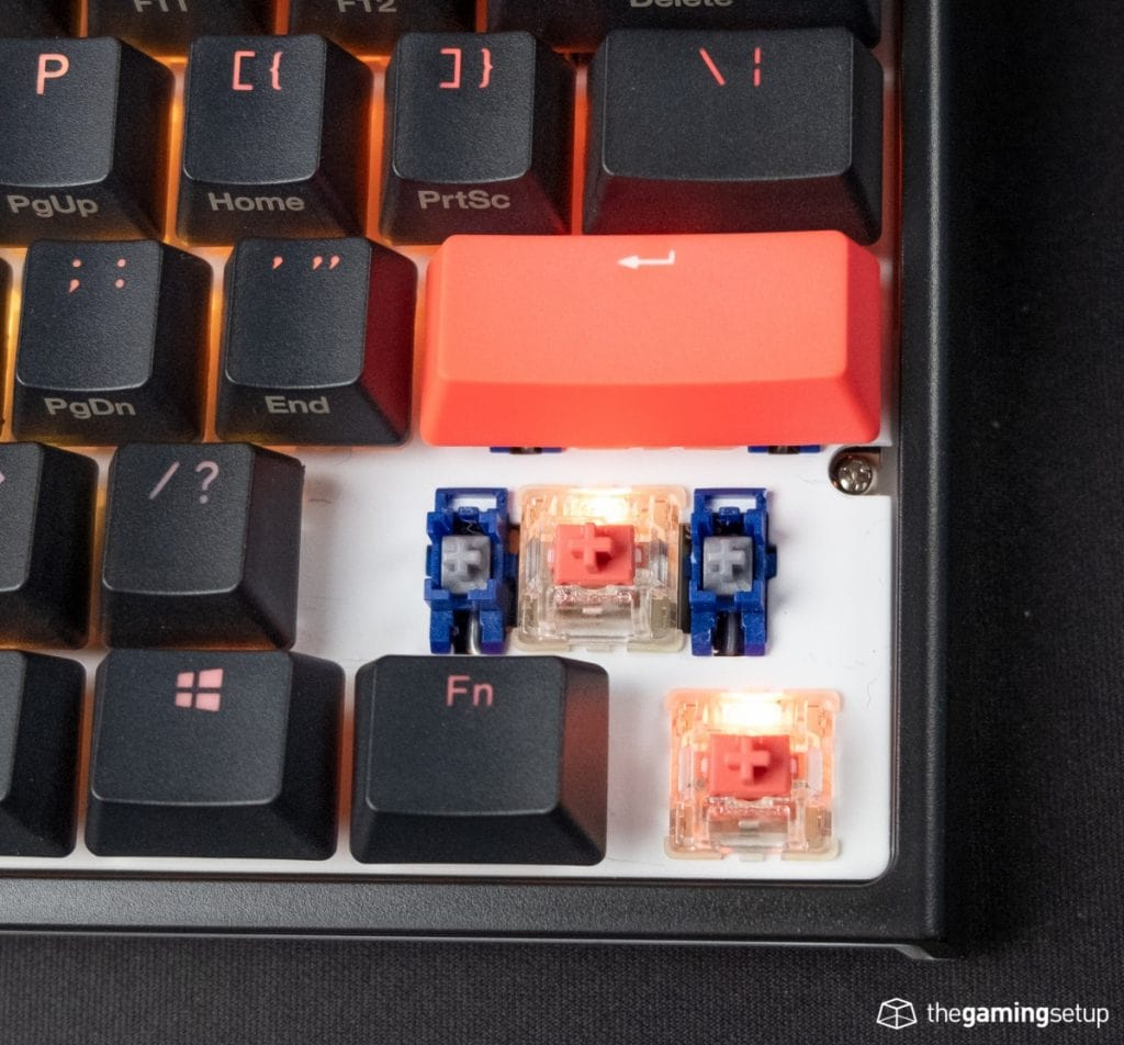Ducky One 2 Mini switches
