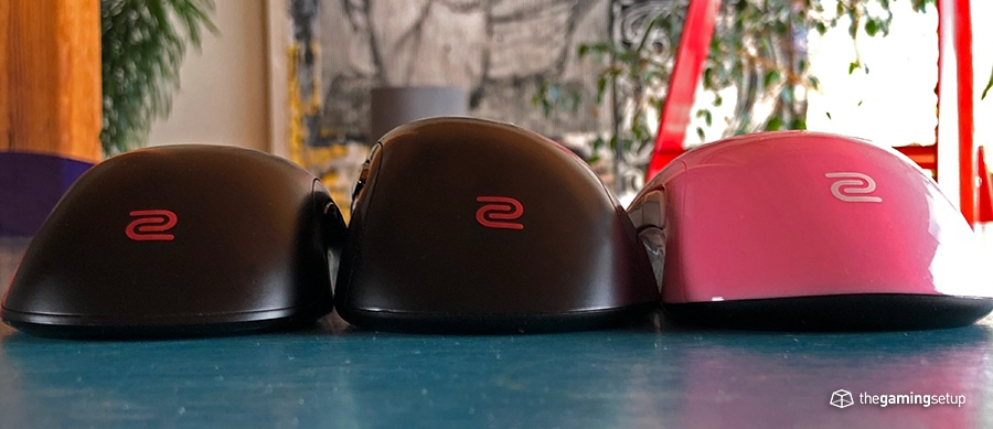 Zowie mice back compared