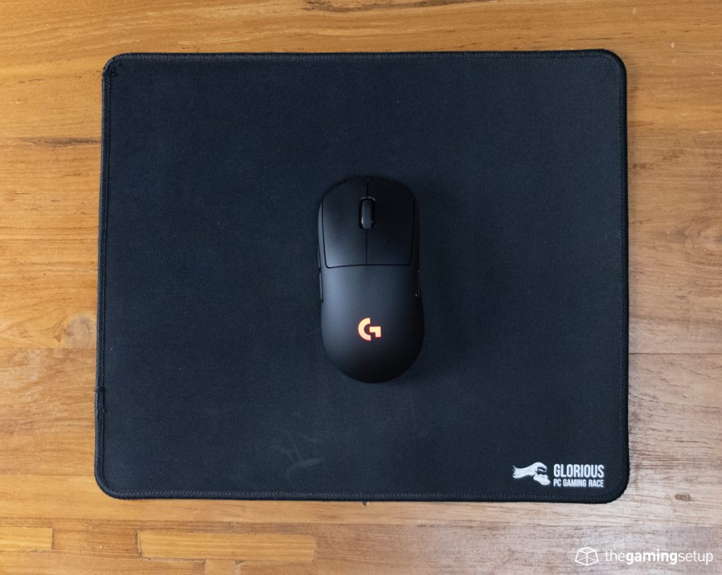 Glorious Gaming Mouse Pad - Top View