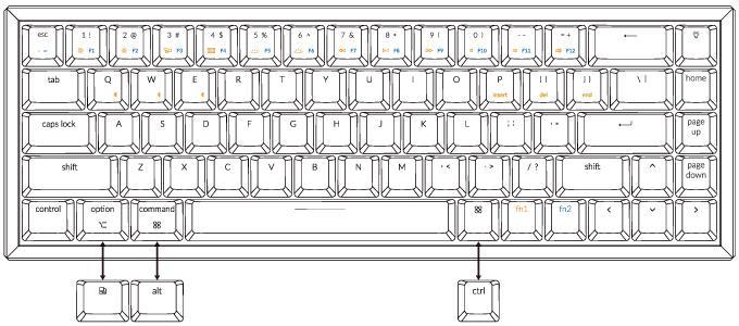 Keychron PC/Mac Setting