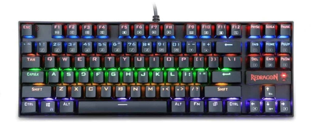 Check Price of the Redragon Kumara K522 RGB on Amazon