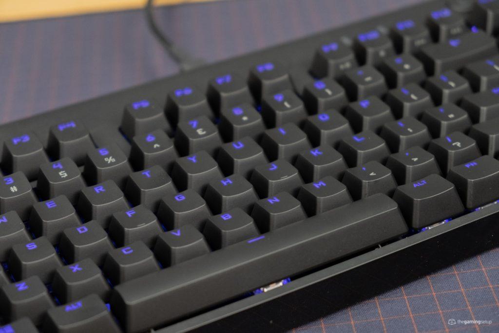 Logitech G Pro X Keyboard - design
