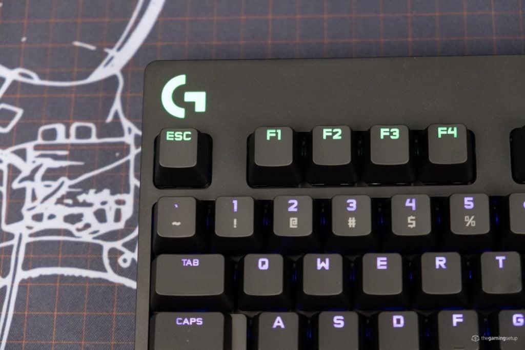 Logitech G Pro X Keyboard - G Logo