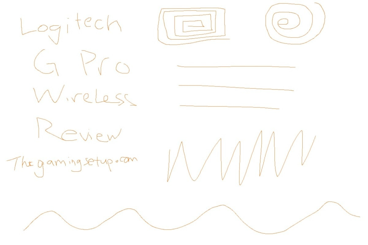 Logitech G Pro Wireless Paint Test