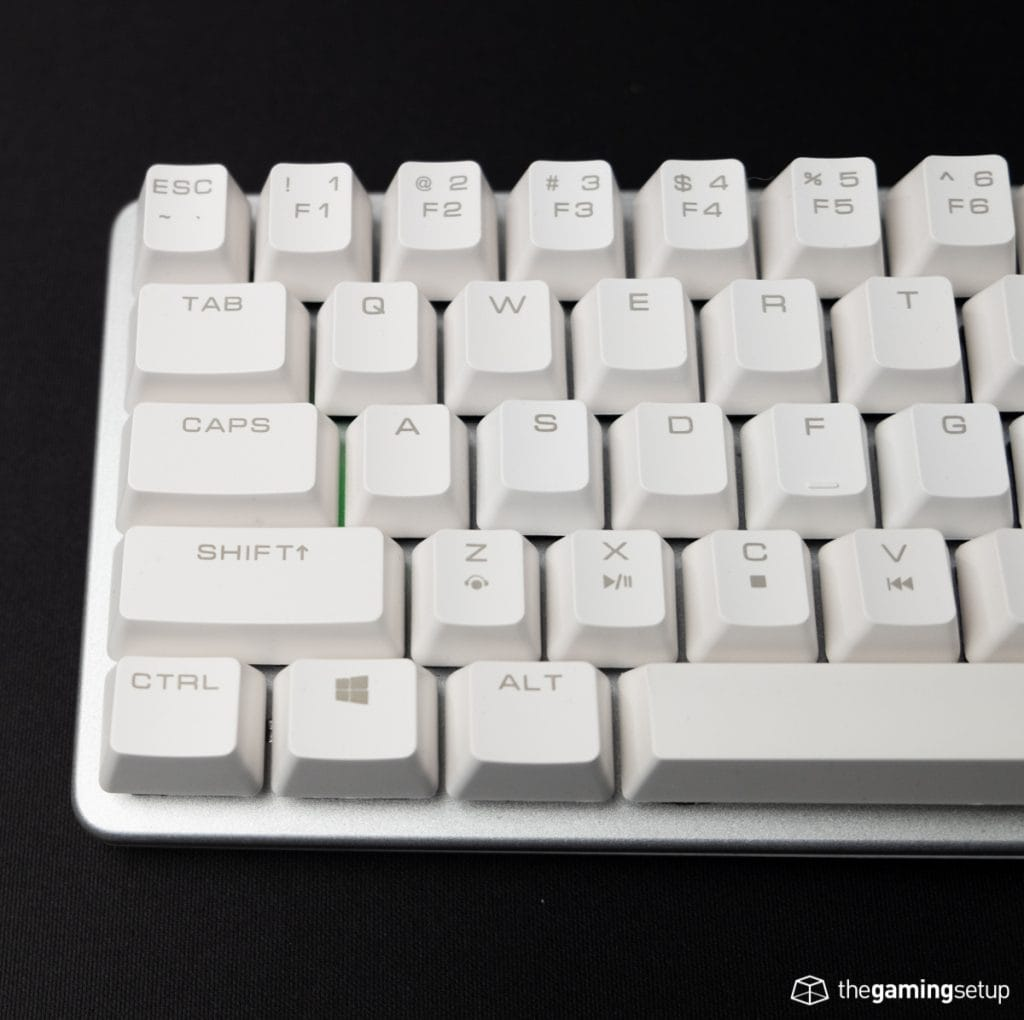 Magicforce 68 - Caps lock on