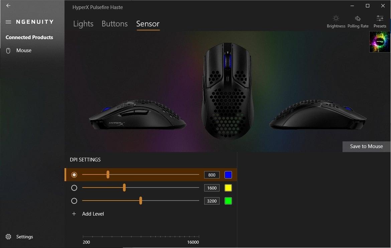 ngenuity - sensor