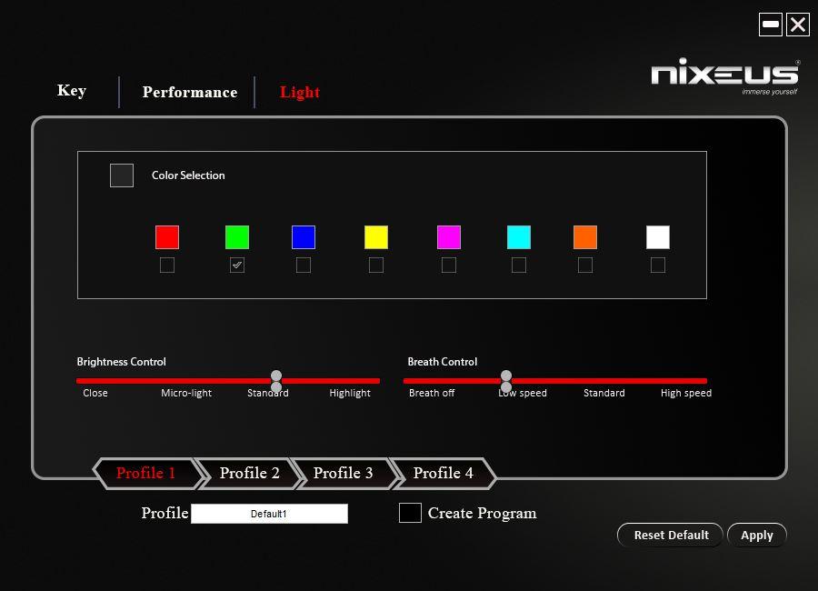 Nixeus Revel Software - Lighting