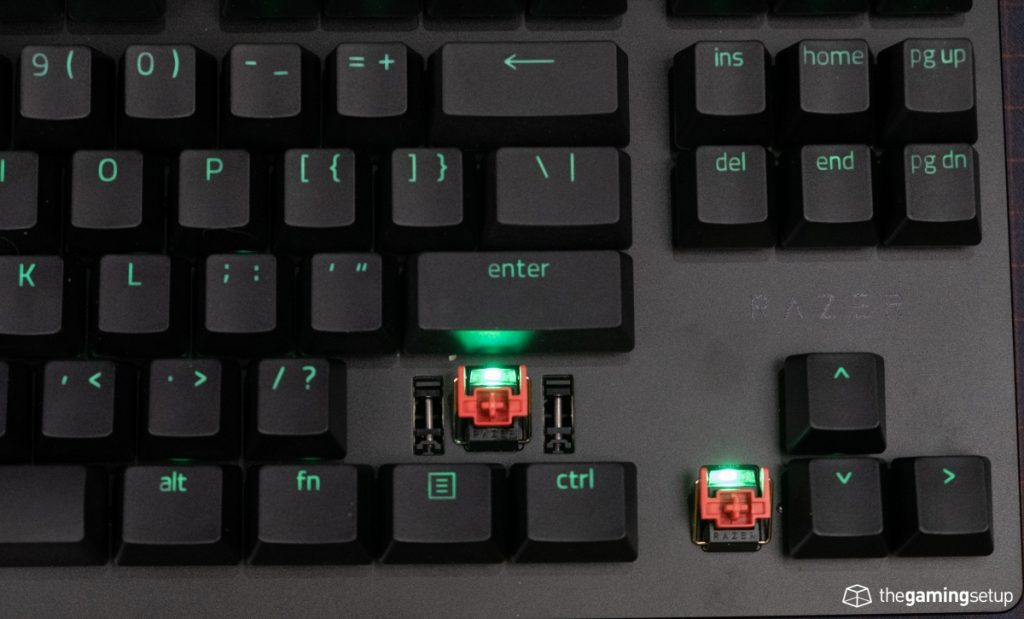 Razer Huntsman TE - Optical linear switches