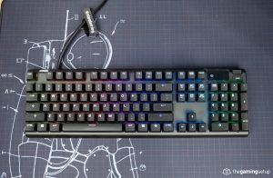 Steelseries Apex Pro Keyboard - Top View