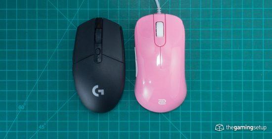 Zowie S2 vs G305 top