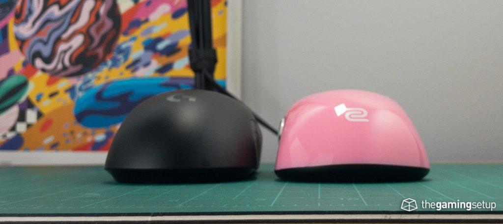 Zowie S2 vs G Pro Wireless back